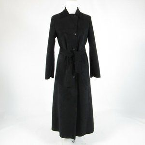 Black MADE IN ITALY OF BENETTON basic coat 6